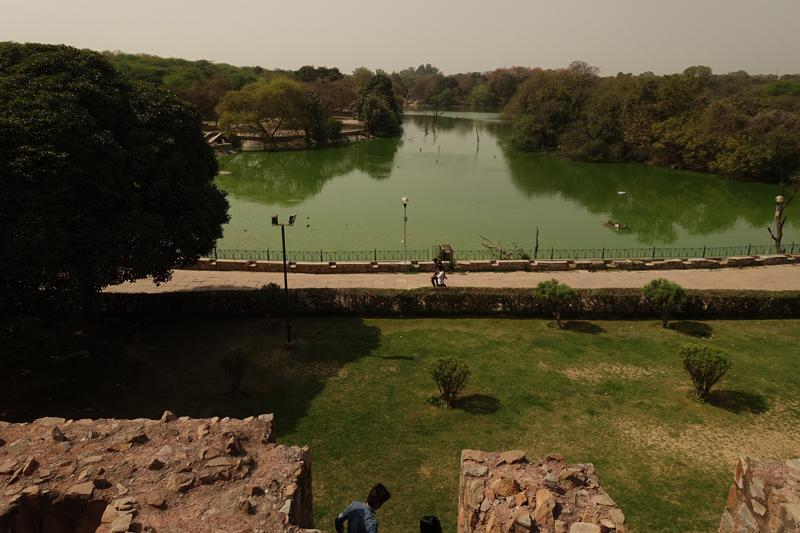 Mon voyage à Delhi en Inde Hauz Khas village