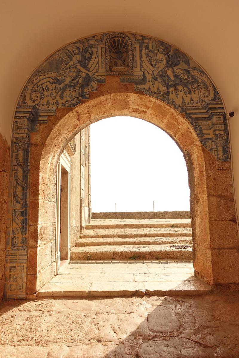 Mon voyage au Fort Sao Filipe à Setúbal au Portugal