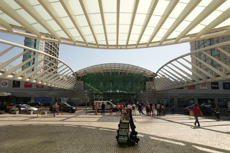 Mon voyage au Village Olympique et la gare Oriente à Lisbonne au Portugal