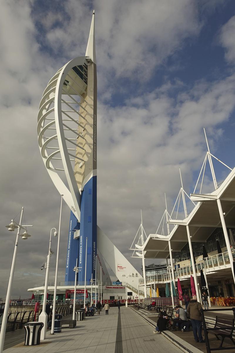 Mon voyage à Portsmouth en Angleterre