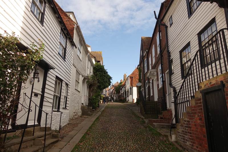 Mon voyage à Rye en Angleterre
