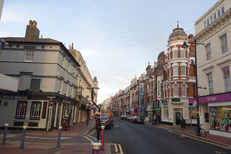 Mon voyage à Eastbourne en Angleterre