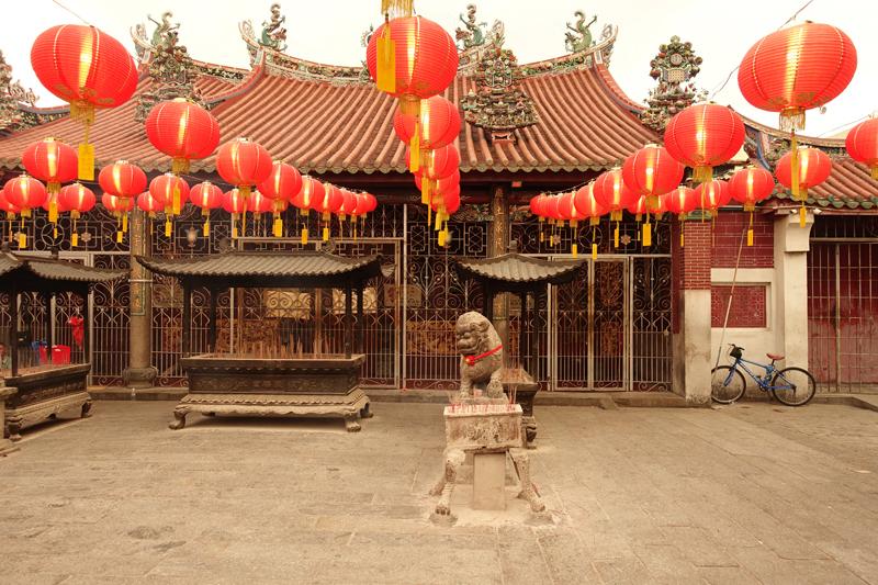 Mon voyage au Temple Tokong Kuan sur l'île de Penang en Malaisie