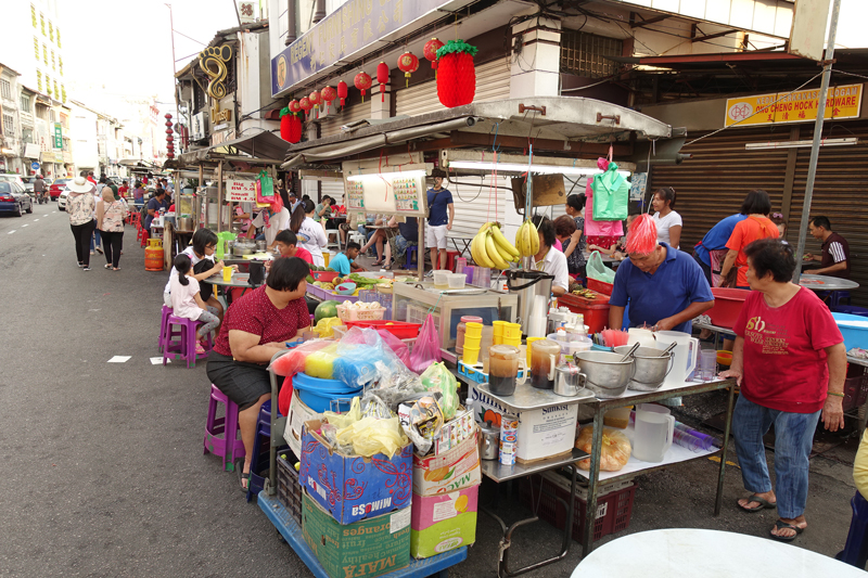 Mon voyage à George Town sur l'île de Penang en Malaisie