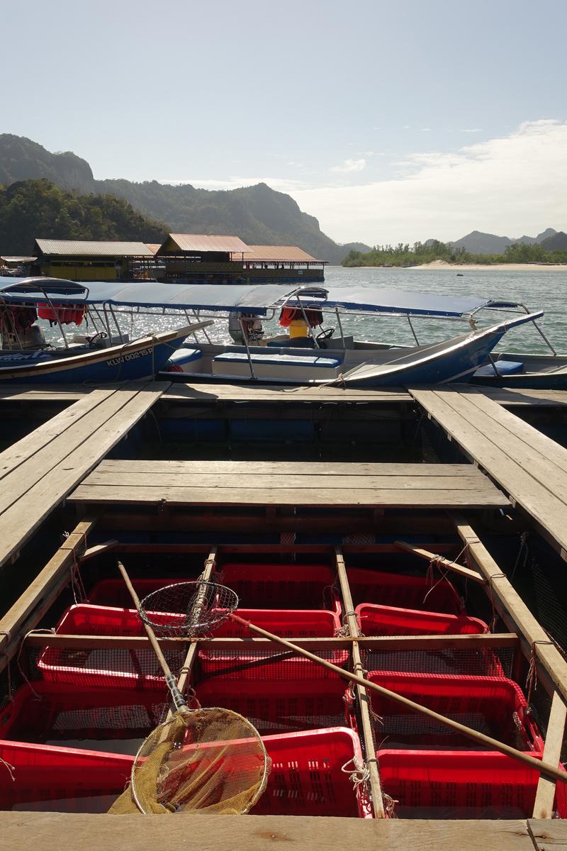 Mon excursion en bateau sur l'île de Langkawi en Malaisie