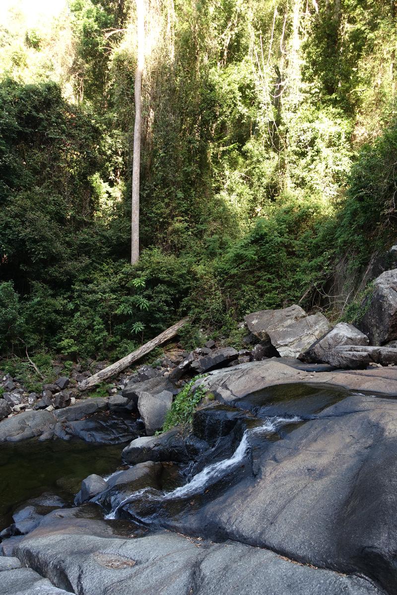 Mon voyage à la Cascade Telaga Tujuh sur l'île de Langkawi en Malaisie