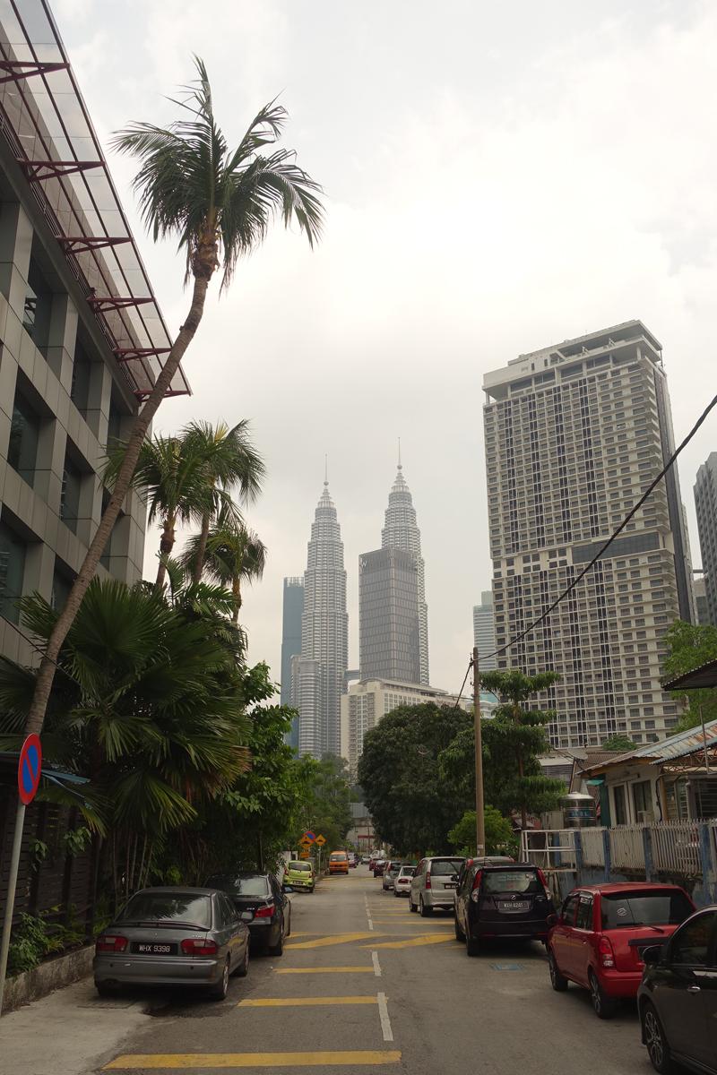Mon voyage dans le quartier Kampung Baru à Kuala Lumpur en Malaisie