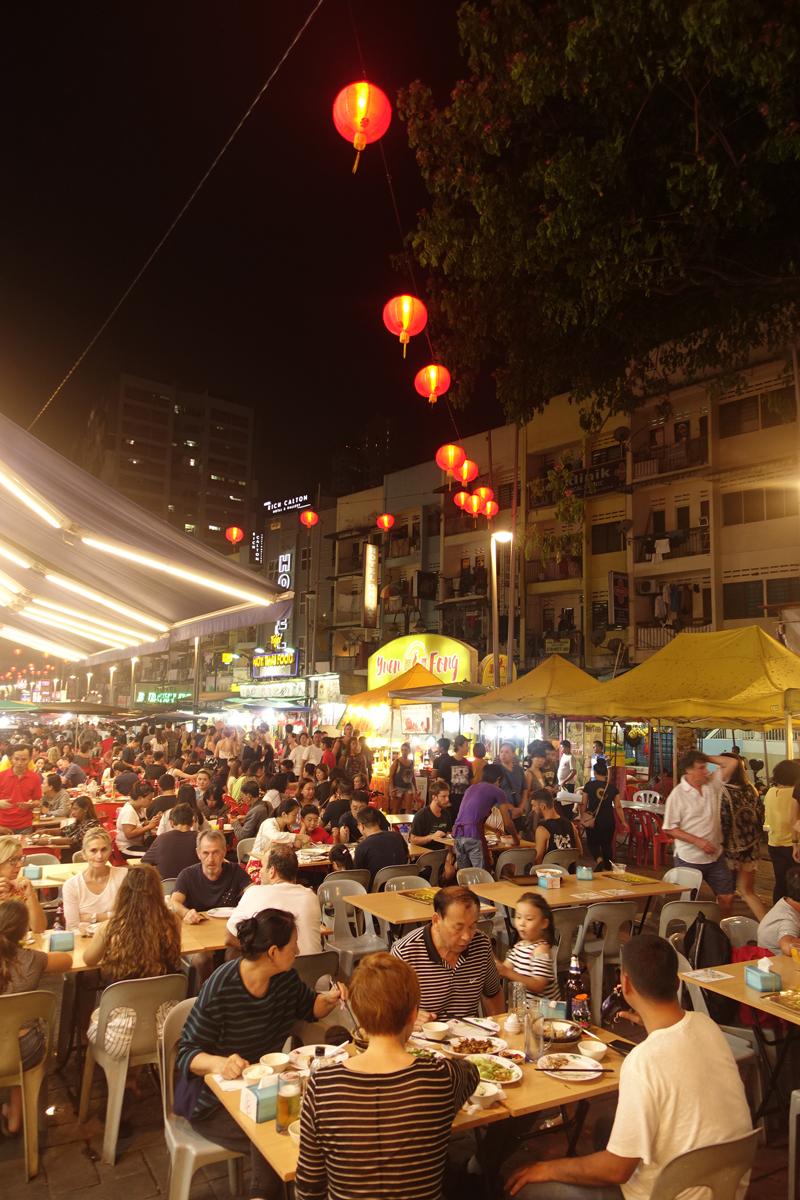Mon voyage dans le quartier Bukit Bintang à Kuala Lumpur en Malaisie