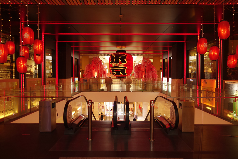 Mon voyage au centre commercial Pavillon KL à Kuala Lumpur en Malaisie
