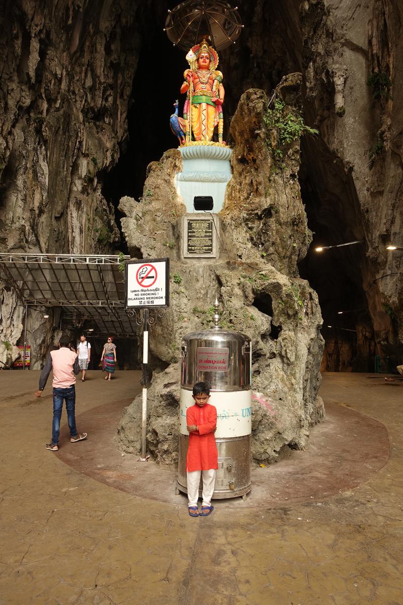 Mon voyage aix Batu Caves à Kuala Lumpur en Malaisie