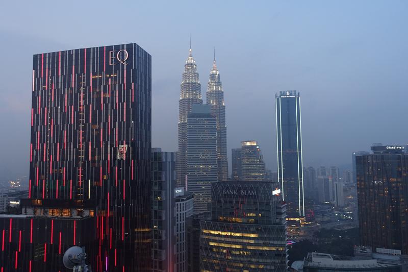 Mon voyage au bar Heli Lounge Bar à Kuala Lumpur en Malaisie