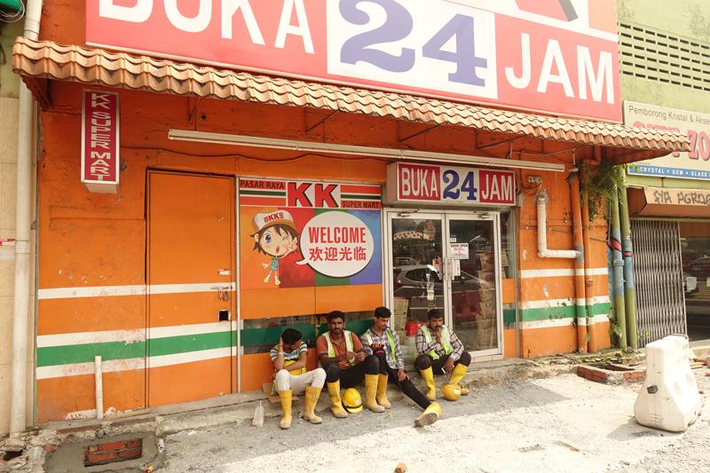 Mon voyage à Chinatown à Kuala Lumpur en Malaisie
