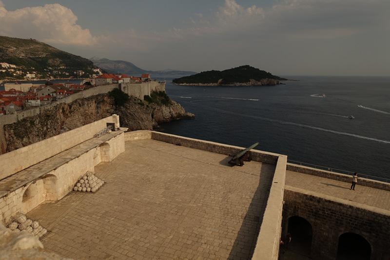 Mon voyage au Fort Lovrijenac de Dubrovnik en Croatie