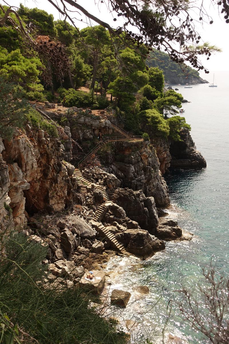 Mon voyage à l''île de Kolocep en Croatie