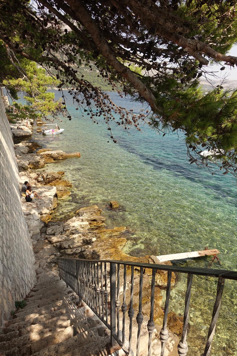 Mon voyage à Korcula sur l'île de Korcula en Croatie