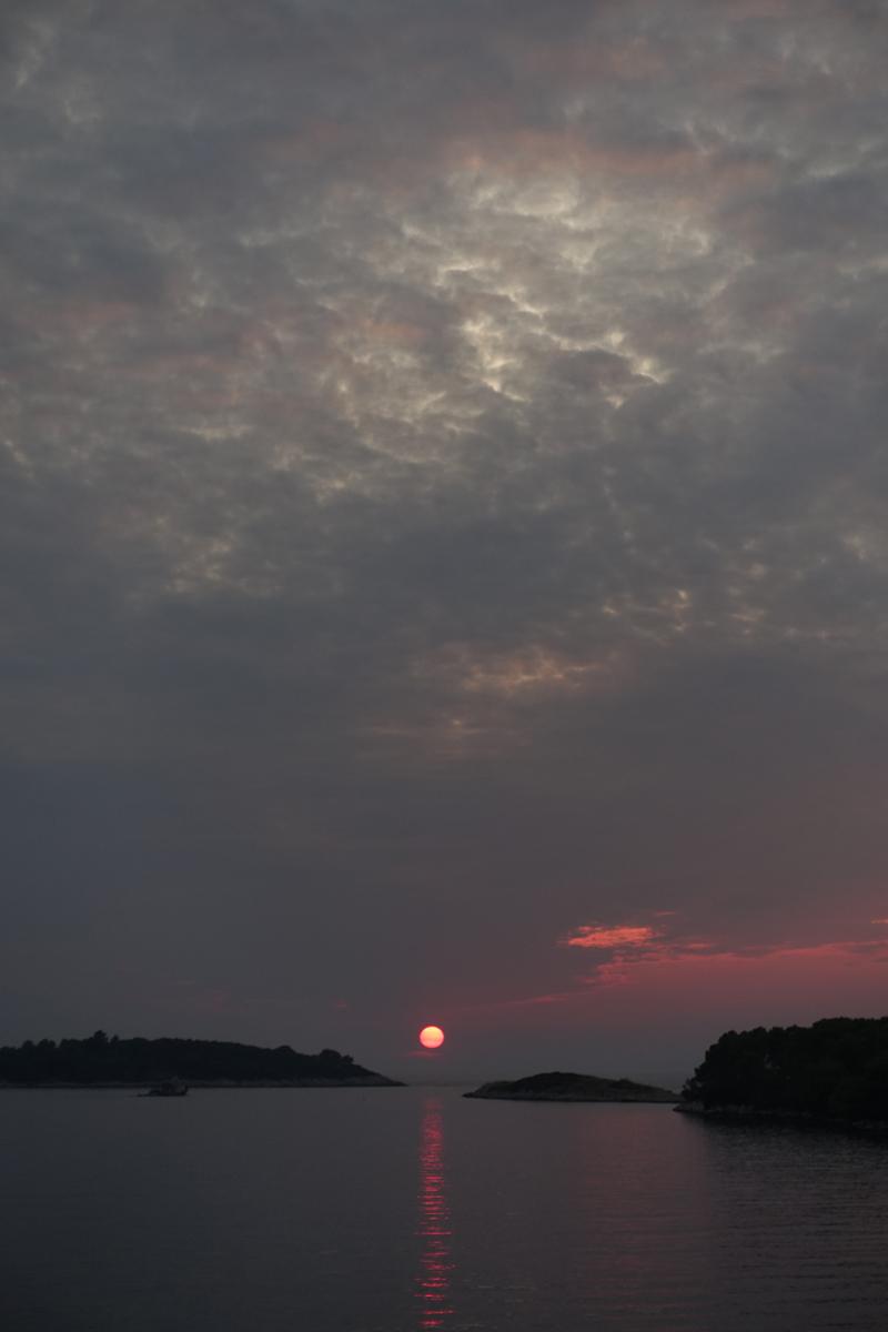 Mon voyage à Pomena sur l'île de Mljet en Croatie