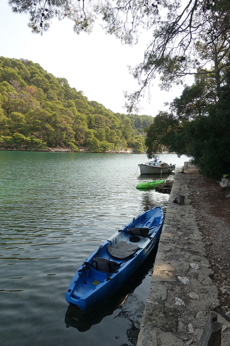 Mon voyage au Parc Naturel de l'île de Mljet en Croatie