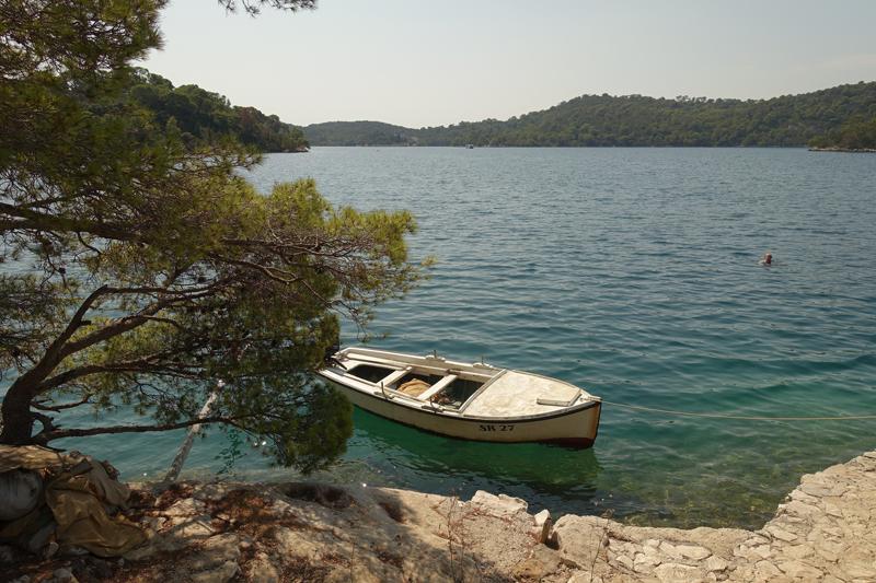 Mon voyage à Pristaniste sur l'île de Mljet en Croatie