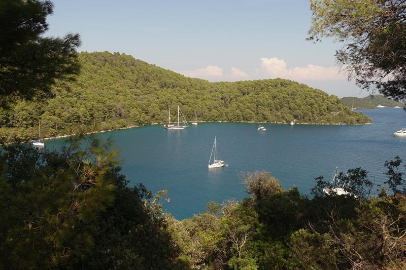 Mon voyage à Polace sur l'île de Mljet en Croatie