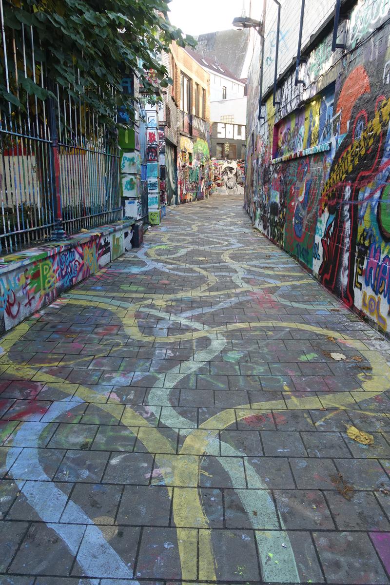 Mon voyage rue Werregaren Straat à Gand en Belgique