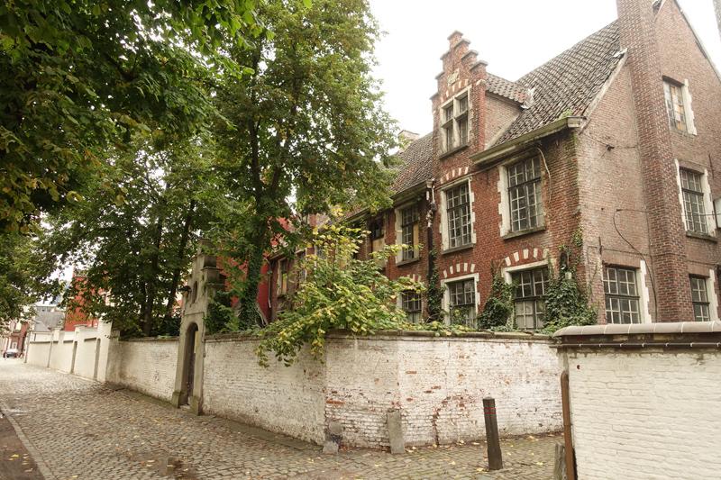 Mon voyage dans quartier Le petit Béguinage à Gand en Belgique