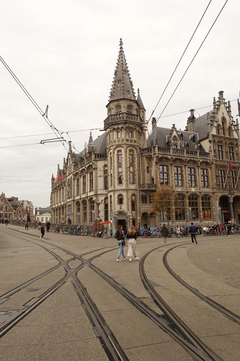 Mon voyage à Gand en Belgique