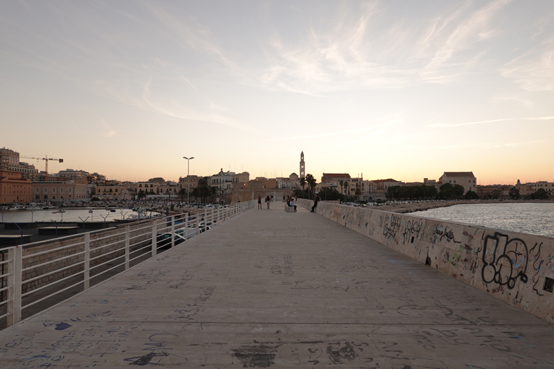 Mon voyage à Bari dans les Pouilles en Italie
