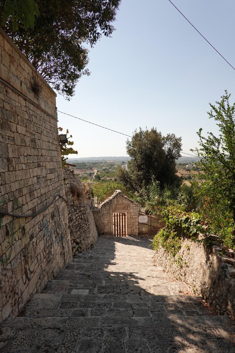 Mon voyage à Locorotondo dans les Pouilles en Italie