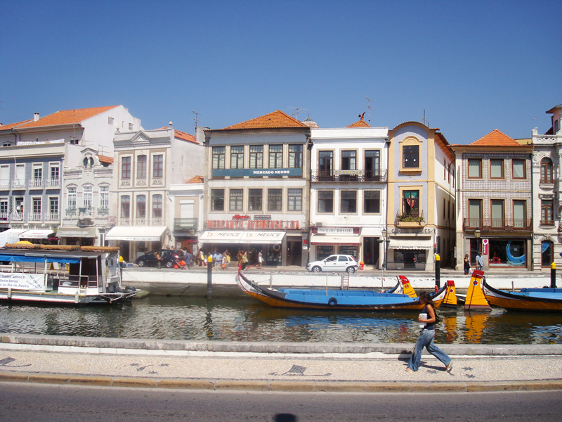 Mon voyage au Portugal Aveiro