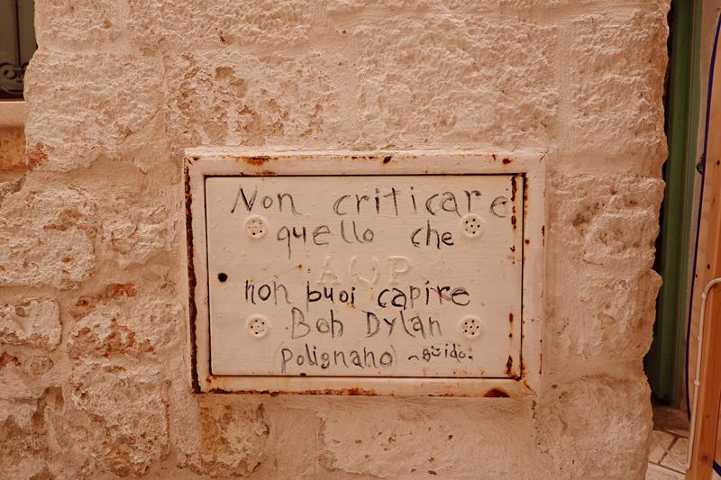 Mon voyage à Polignano a Mare dans les Pouilles en Italie