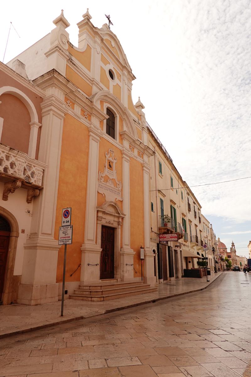 Mon voyage à Fasano dans les Pouilles en Italie