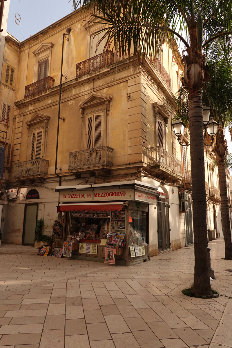 Mon voyage à Brindisi dans les Pouilles en Italie