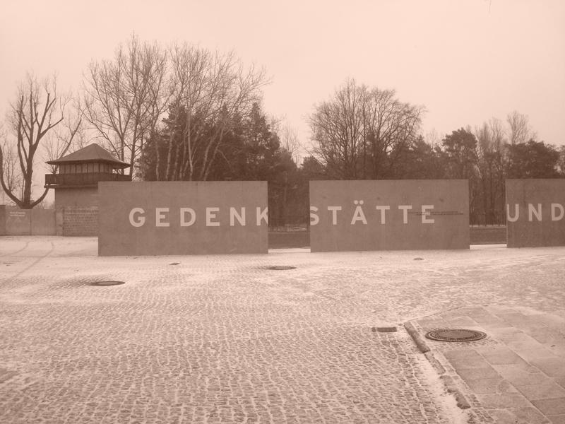 Camps de concentration de Sachsenhausen à Berlin en Allemagne