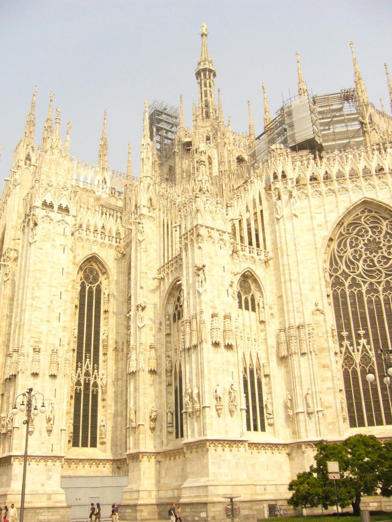 Mon voyage en Italie Milan