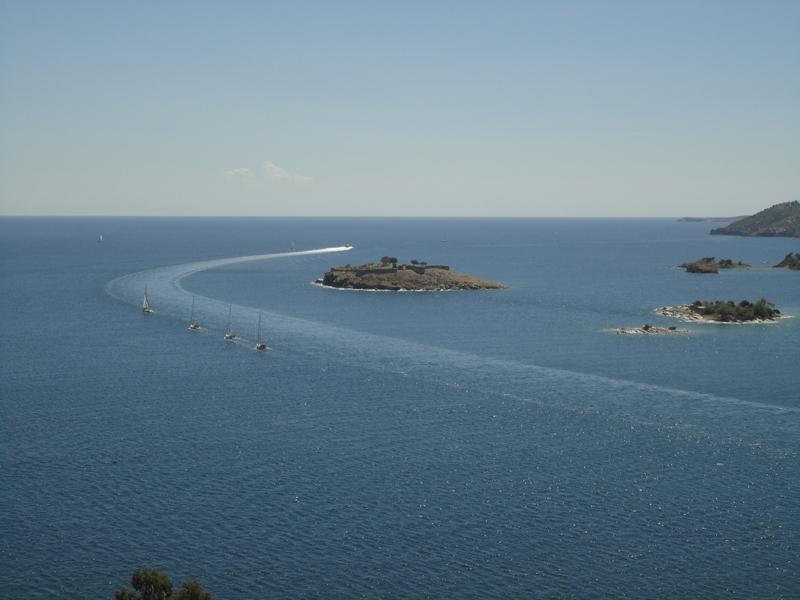 Mon voyage en Grèce L'île de Poros