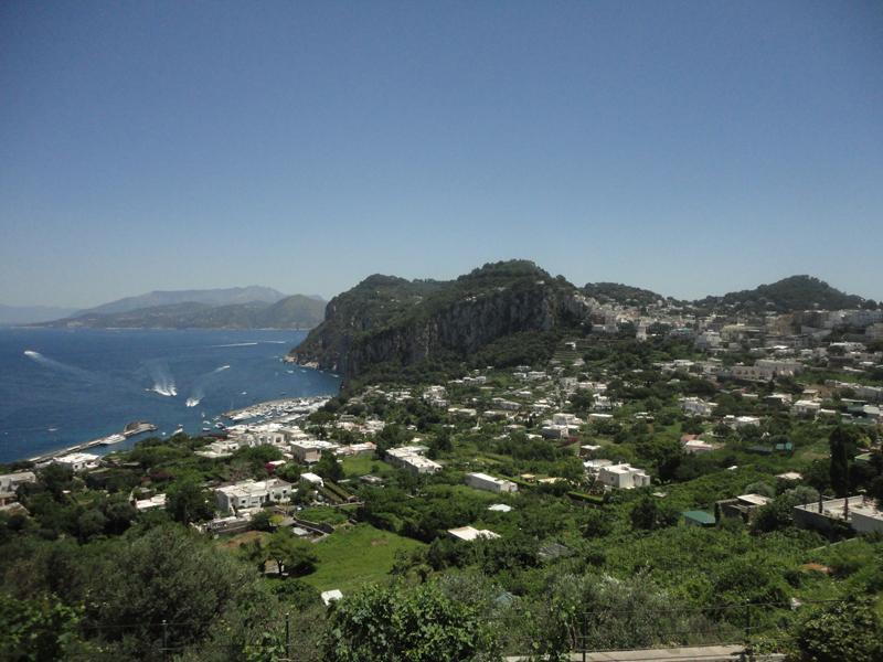 Mon voyage en Italie à L'île de Capri