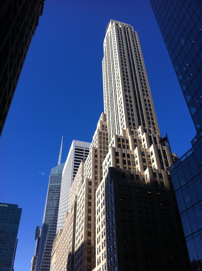 Mon voyage à New York