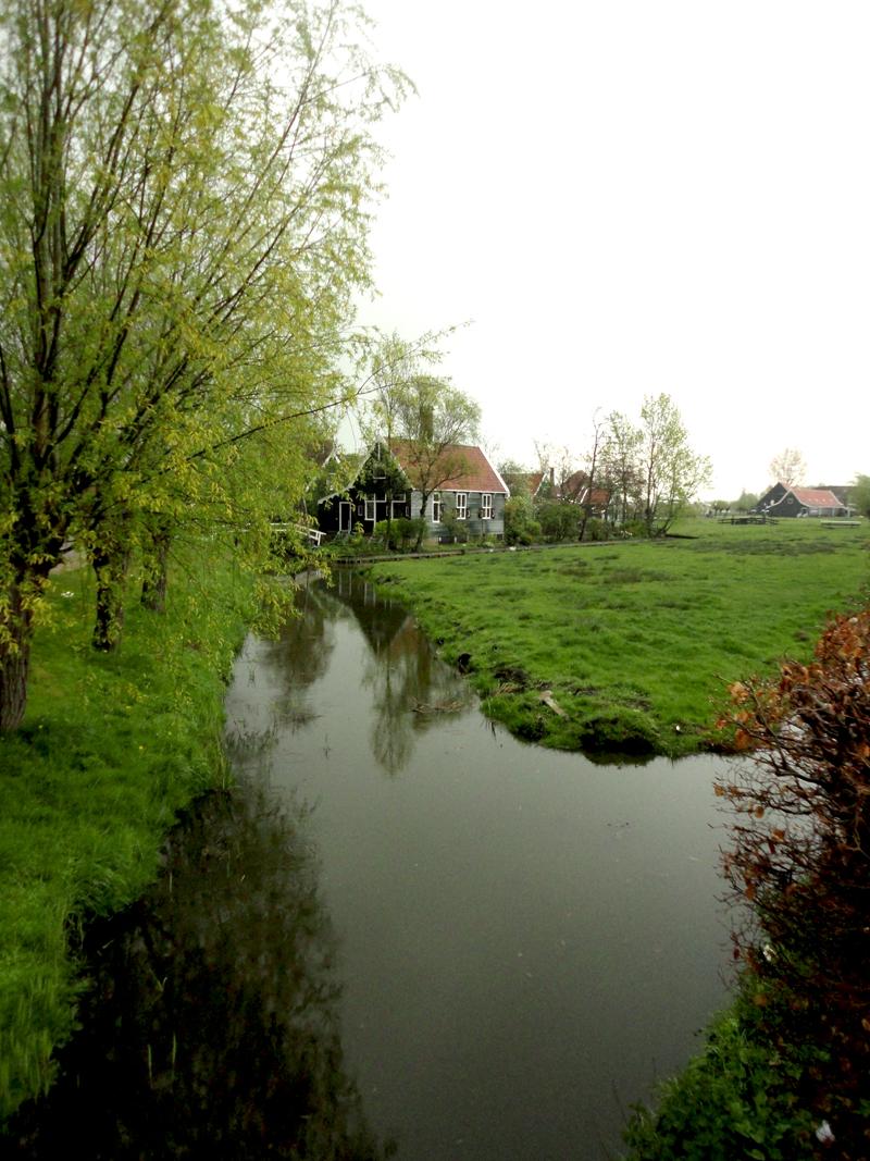 Mon voyage à Amsterdam à Zanse Shans