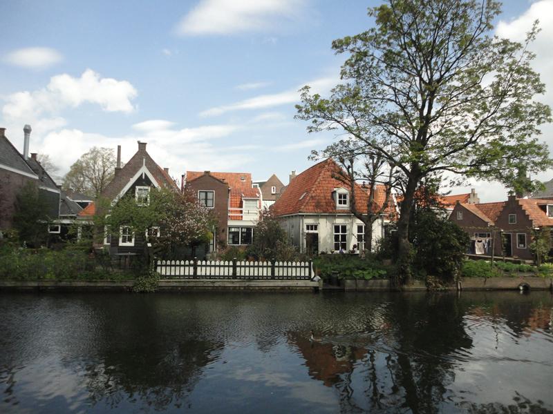 Mon voyage à Amsterdam à Edam