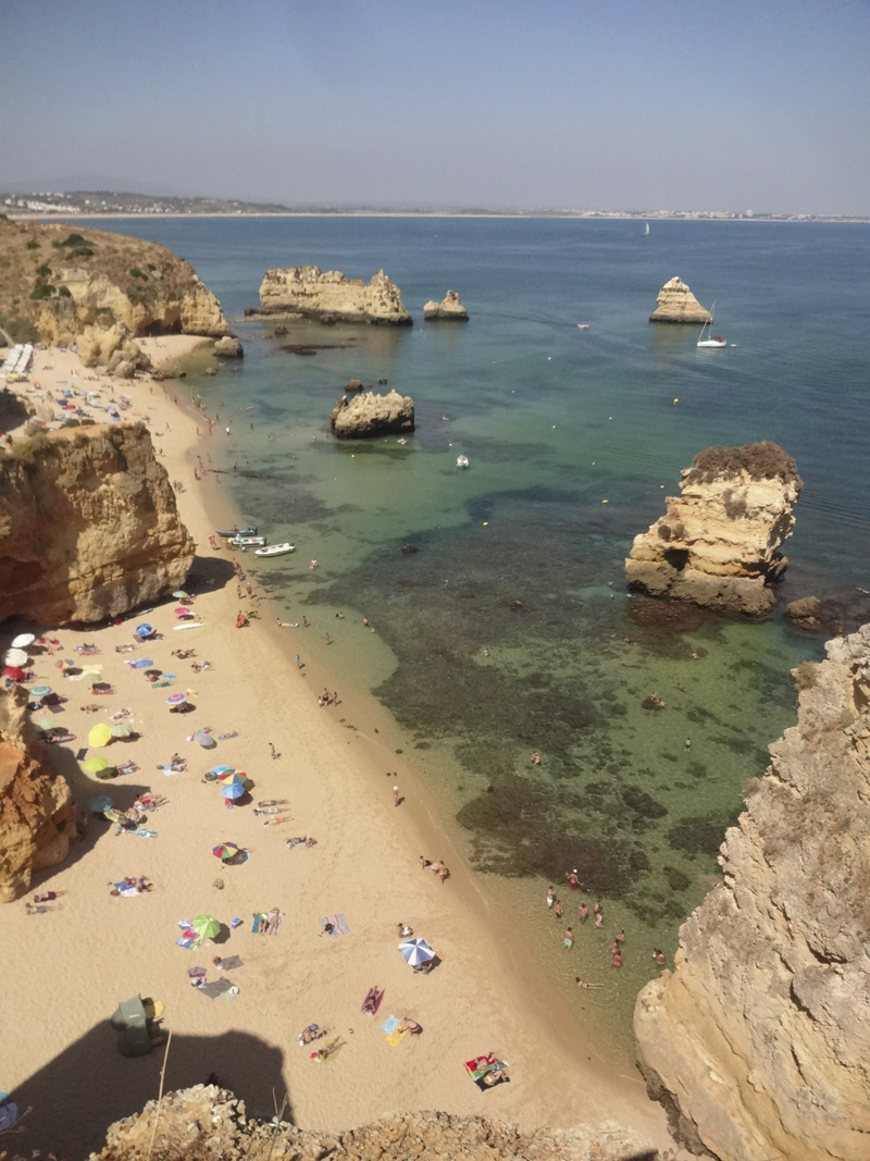 Mon voyage à Lagos au Portugal