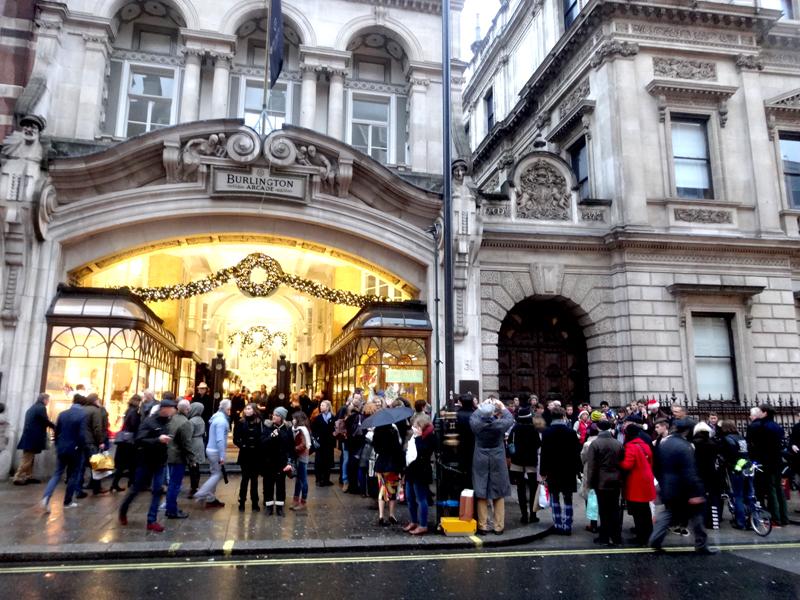 Voyage Décorations de Noël à Londres