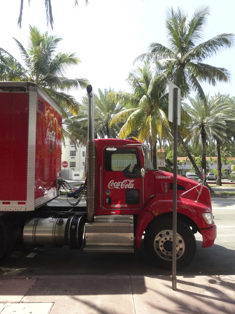 Mon voyage à Miami Beach à Miami en Floride aux Etats Unis