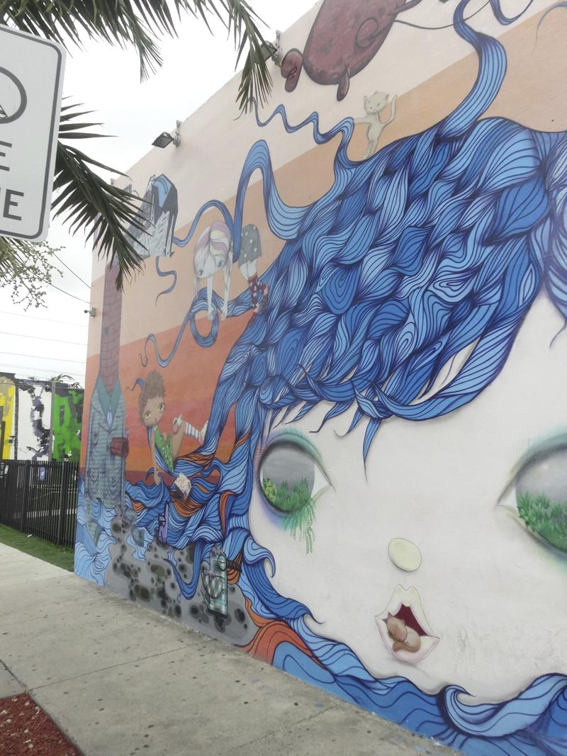 Mon voyage dans le quartier du Winwood à Miami en Floride aux Etats Unis