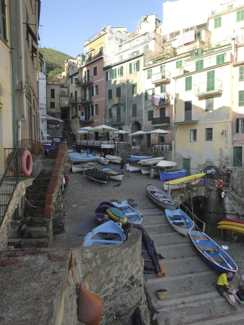 Mon voyage en Italie - Les 5 Terres - Riomaggiore