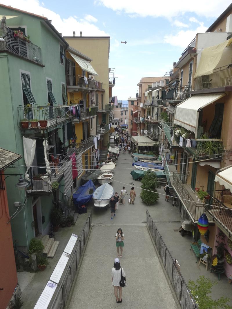 Mon voyage en Italie - Les 5 Terres - Manarola