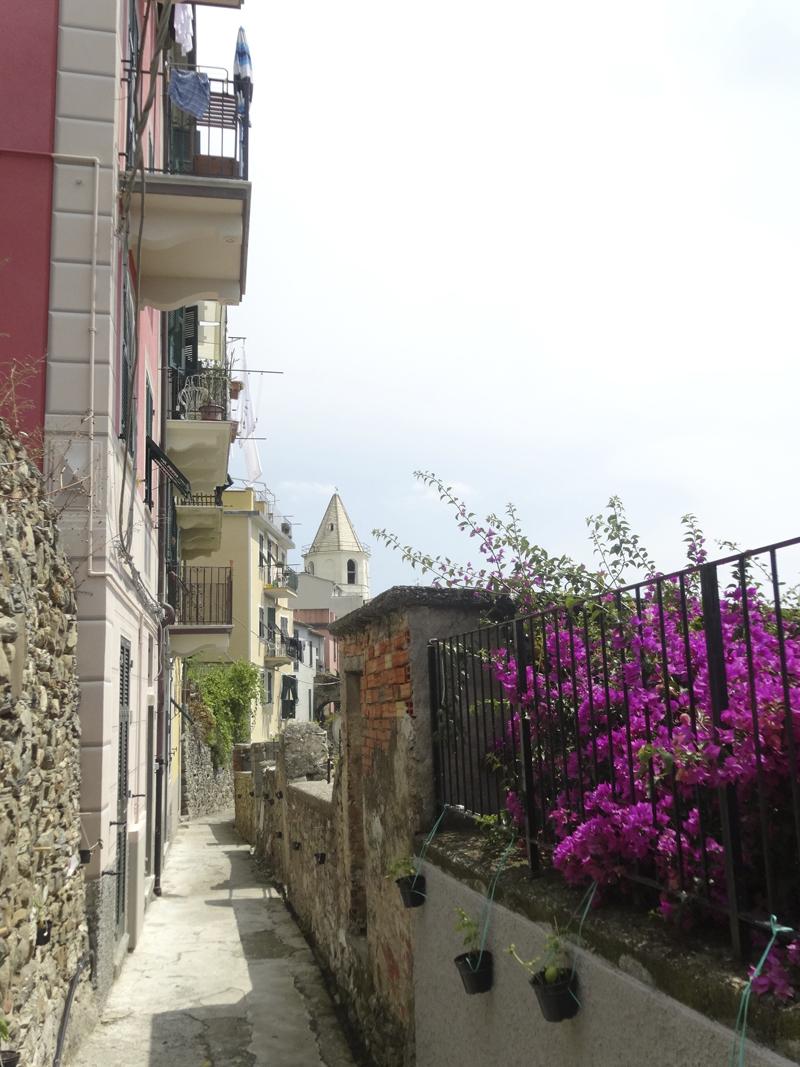 Mon voyage en Italie - Les 5 Terres - Corniglia