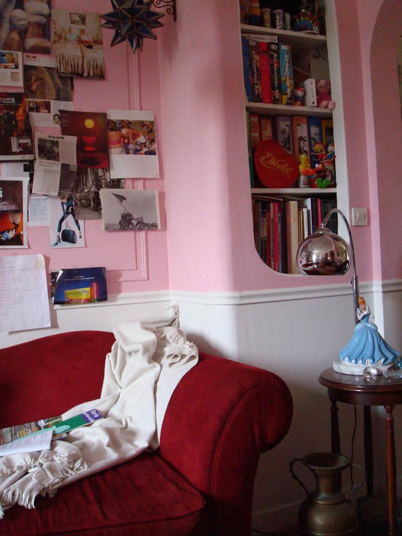 Photo de mon atelier appartement en ce moment