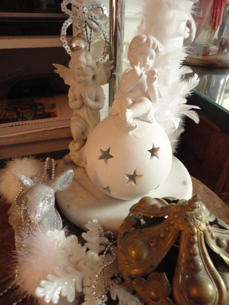 Décoration de Noël dans mon atelier