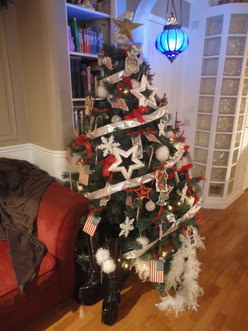 Mon atelier à Noël en 2011