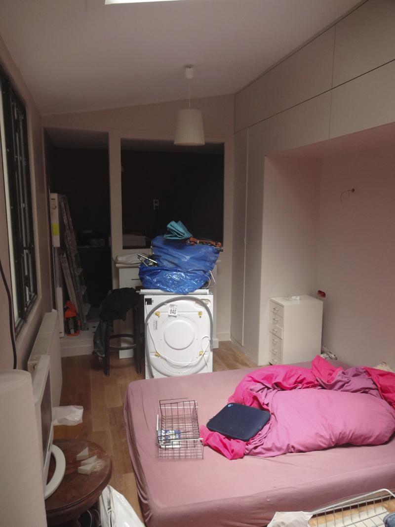De la fin des travaux à l'emménagement de mon atelier